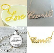 SEX AND THE CITY CARRIE BRADSHAW NECKLACE LOVE KEYCHAIN QUOTE PENDANT SJP
