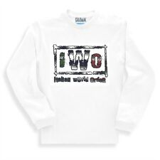 Novelty Funny Sweatshirt I W O Italian World Order