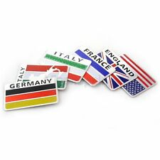 Olympic Games Alloy national flag Emblem Symbol Decal Cover Sticker Sport Racing