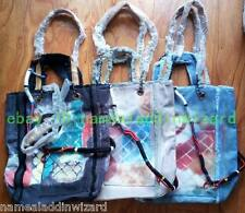 New Canvas printing Graffiti Tote Chain Shoulder Shopping Bag Handbags Purses