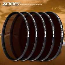 Zomei 49 to 82mm IR 680nm+720nm+760nm+850nm+950nm INFRARED FILTER for SLR Camera