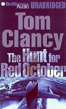 AUDIO Tom Clancy The Hunt for Red October Unabridged English tapes SEALED