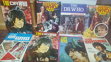 DOCTOR WHO ANNUALS VINTAGE 1973 1974 1977 1978 1979 USED