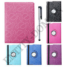 360° Rotating Bling Smart Leather Case Cover for Apple iPad Air 1st Gen