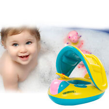 Baby Child Float Seat Boat Swim Ring Water Swimming Pool Inflatable Yellow