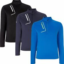 2016 Callaway Golf Opti-Therm 1/4 Zip Fleece Sweater Mens Golf Thermal Pullover