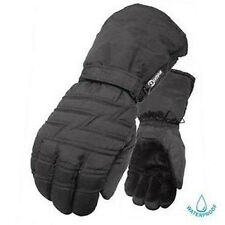 Olympia 6000 Mustang I Cold Weather Men's Black  Nylon Motorcycle Biker Gloves