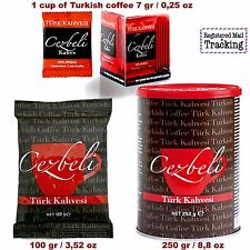 CEZBELI TURKISH COFFEE GROUNDED 7g / 100g / 250g THE BEST QUALITY
