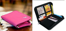 Travel Passport Credit Card Document Holder Case Bag Organizer Wallet Purse RS