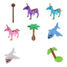 Inflatable Blow Up Decoration Toy Kids Party Supply Gift Animal Plane Tree Toys