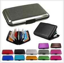 Nice Waterproof Aluminum ID Credit Card Mini Wallet Holder Pocket Case Box New B