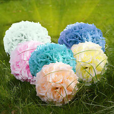 8'' Silk Rose Pomander Flower Kissing Ball Wedding Party Home Holiday Decoration