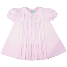Feltman Brothers Infant Girls Pink Pleated Dress NWT