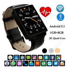 3G Smartwatch Phone Android 5.1 Quad Core 1.3GHz 1.63 inch WiFi GPS Smart Watch