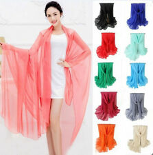 New Women Candy Colors Soft Cotton Long Scarf Wrap Shawl Scarves Fashion Stole