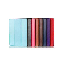 Slim Magnetic Smart Cover Case Stand for Apple iPad Air 2 Front & Back Hybrid