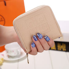 Women Trendy Leather Wallet Coin Purse Clutch Trifold ID Card Holder Small Bag