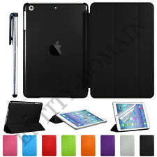 Smart Ultra Thin Flip Magnetic Stand Transparent Back Case Apple iPad Air-2 Gen
