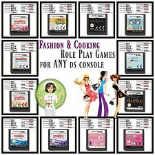 Multi✿ Nintendo DS DSi XL 2DS 3DS ●● FASHION & COOKING Role-Playing Games ●●