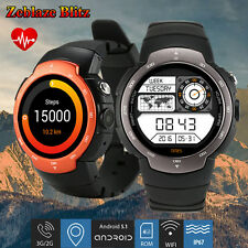 Smart Watch Bluetooth Phone 3G WiFi GSM GPS SIM Call Camera For Samsung Android