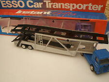 ESSO CAR TRANSPORTER SCANIA & LONG TRAILER THE  ESSO COLLECTION 1:50 SCALE BOXED