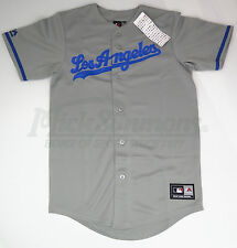 NEW Los Angeles Dodgers Replica Road MLB Baseball Jersey by Majestic Athletic