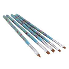 5 Pcs Kit Fine Design UV Gel Polish Soft Nail Art Brush Pen Painting Tool
