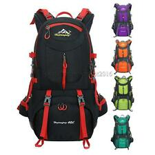 40L Waterproof Outdoor Climbing Backpack Camping Hiking Rucksack Travel Bag