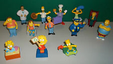 Lot of 13 Burger King Simpsons Figures with Sound