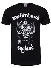 Motorhead England Mens Black T-Shirt - NEW & OFFICIAL