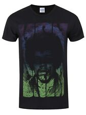 Jimi Hendrix Swirly Text Men's Black T-shirt