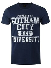 DC Comics Gotham City University Men's Navy T-shirt
