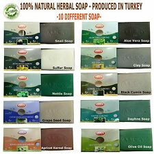 TURKISH HERBAL SOAP - %100 NATURAL PRODUCT - ARICA BRAND - FACE&BODY