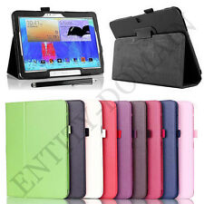 "Smart Folio PU Leather Flip Stand Cover Samsung Galaxy Tab 3 10.1"" P5200-P5210"