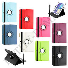 "Leather 360° Rotating Smart Stand Case Cover Samsung Galaxy Tab 3 -10.1"" P5200"