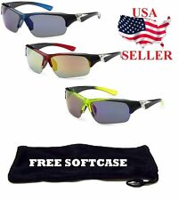 X-Loop Sport Cycling Fishing Golfing Wrap Around New Sunglasses Men's Running
