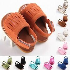 New Many style cozy Leather Infant Baby Tassel soft Sole slippers shoes 123 #QTH
