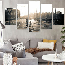 New Arrival Cityscape Canvas Painting Wall Picture for Living Room No Frame 5pcs