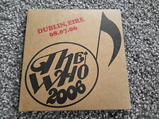 The Who live in Dublin, Eire.Encore Series cd's.