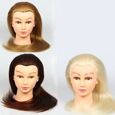 """22""""24""""26"""" Real 30%50%90% Human Hair training Cosmetology Hairdressing Mannequin"""