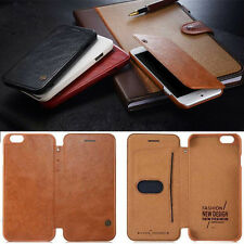 G-CASE Luxury  Leather Flip Cover Card Wallet Case For iPhone 6 6S 4.7 5.5 Plus