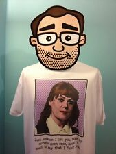 Are You Being Served? - Pop Art Miss Brahms / Wendy Richard - White T-Shirt