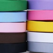 """5YDS 1"""" 25mm solid packing grosgrain ribbon 4 hairbow home decor"""
