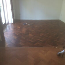 Reclaimed Solid Wooden Parquet Flooring, 35 sq m 13 sq m