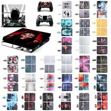 Skin Sticker Cover For PS4 Playstation 4 Console & 2 Controller Decal Set