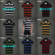 NWT ABERCROMBIE & FITCH MENS OPALESCENT RIVER POLO SHIRTS SIZE M,L,XL,XXL A&F