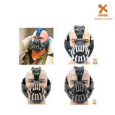 XCOSER TDKR Dark Knight Bane Mask Hardy PVC Cosplay Helmet With Voice Changer