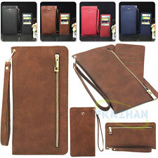 New Handbag Leather Wallet Card Pocket Purse Bag Pouch Cover Case for CellPhone