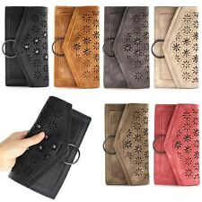 Multi-Function Shoulder Strap Wallet Coin Mobile Cellphone Pouch Bag Case Cover