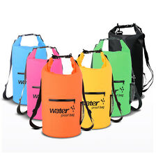 10L 20L Waterproof Dry Bag Outdoor Sport Swimming Rafting Kayaking Sailing Camp